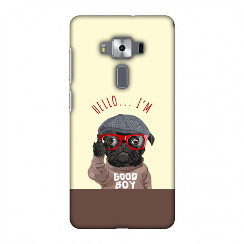Dog - GOOD BOY Slim Hard Shell Case For Asus Zenfone 3 Deluxe ZS570KL