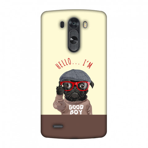 Dog - GOOD BOY Slim Hard Shell Case For LG G4