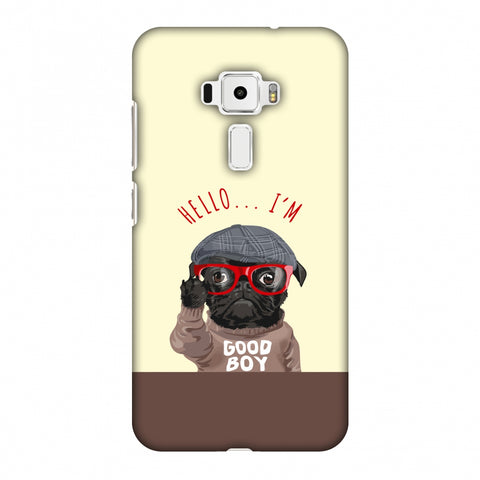 Dog - GOOD BOY Slim Hard Shell Case For Asus Zenfone 3 ZE520KL