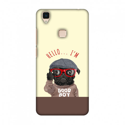 Dog - GOOD BOY Slim Hard Shell Case For Vivo V3