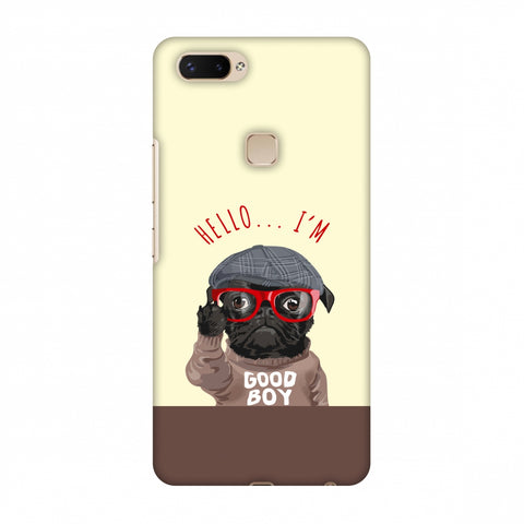 Dog - GOOD BOY Slim Hard Shell Case For Vivo X20 Plus