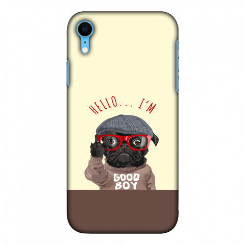 Dog - GOOD BOY Slim Hard Shell Case For iPhone Xr