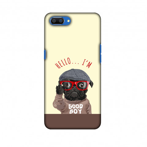 Dog - GOOD BOY Slim Hard Shell Case For OPPO Realme C1