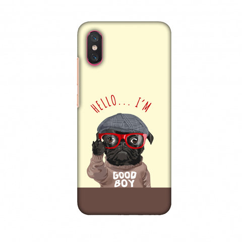 Dog - GOOD BOY Slim Hard Shell Case For Xiaomi Mi 8 PRO