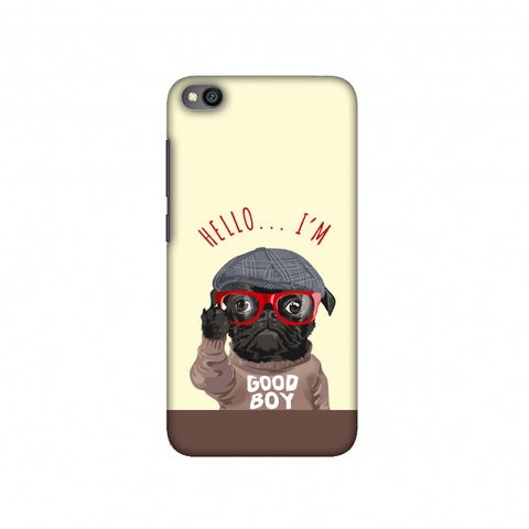 Dog - GOOD BOY Slim Hard Shell Case For Redmi Go