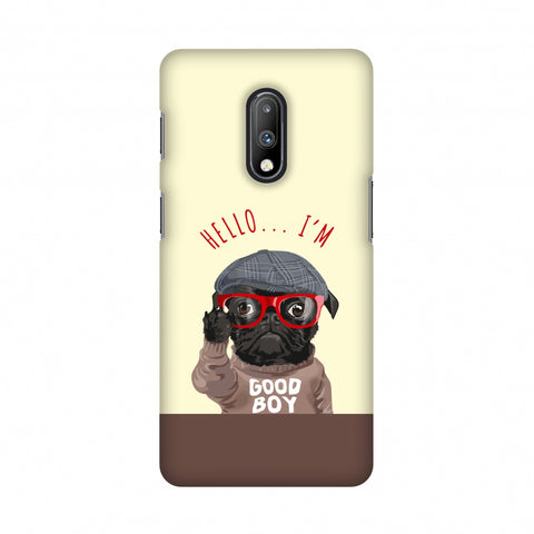 Dog - GOOD BOY Slim Hard Shell Case For OnePlus 7