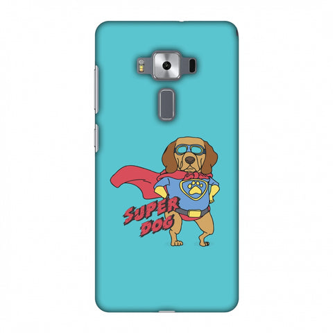 SUPER DOG Slim Hard Shell Case For Asus Zenfone 3 Deluxe ZS570KL