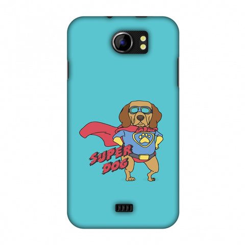 SUPER DOG Slim Hard Shell Case For Micromax Canvas 2 A110