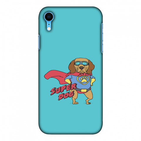 SUPER DOG Slim Hard Shell Case For iPhone Xr