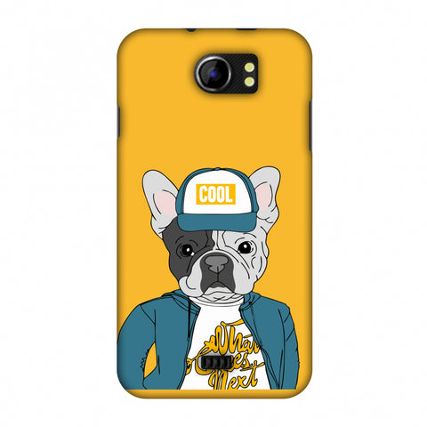 Dog - COOL Slim Hard Shell Case For Micromax Canvas 2 A110