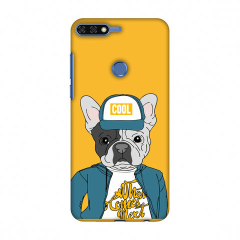 Dog - COOL Slim Hard Shell Case For Huawei Honor 7C