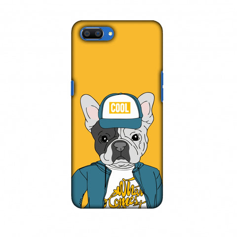Dog - COOL Slim Hard Shell Case For OPPO Realme C1