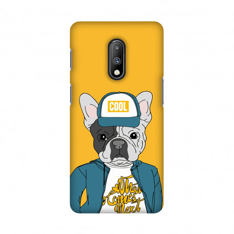 Dog - COOL Slim Hard Shell Case For OnePlus 7