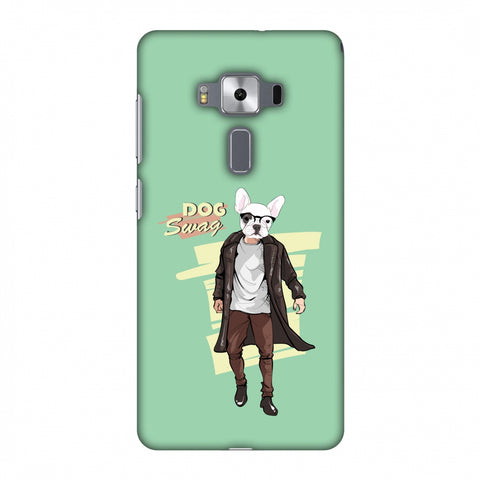 DOG Swag Slim Hard Shell Case For Asus Zenfone 3 Deluxe ZS570KL