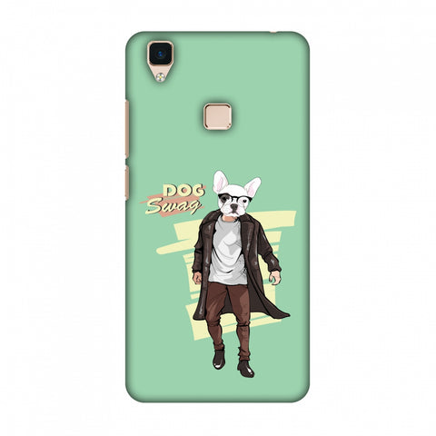 DOG Swag Slim Hard Shell Case For Vivo V3