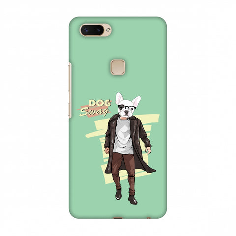 DOG Swag Slim Hard Shell Case For Vivo X20 Plus
