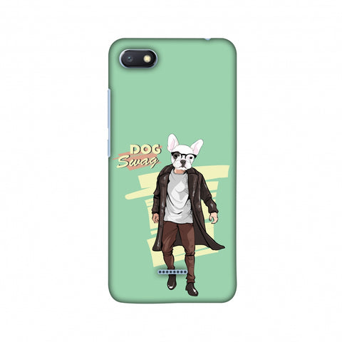 DOG Swag Slim Hard Shell Case For Xiaomi Redmi 6A
