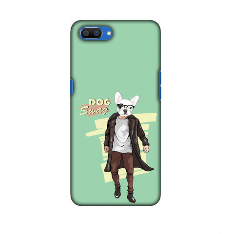 DOG Swag Slim Hard Shell Case For OPPO Realme C1