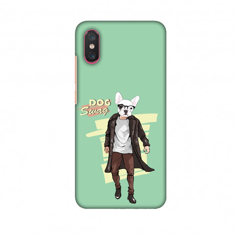 DOG Swag Slim Hard Shell Case For Xiaomi Mi 8 PRO