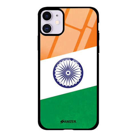 One India Glass Case Cover For iPhone 11