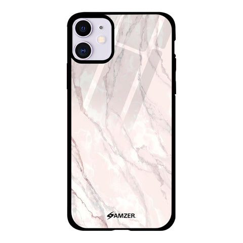 Marble - White Glass Case Cover For iPhone 11