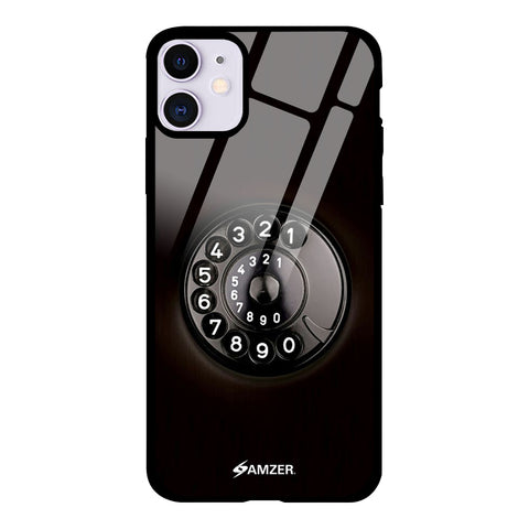 Vintage - Telephone Glass Case Cover For iPhone 11