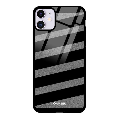 Crosswalk Pattern Glass Case Cover For iPhone 11
