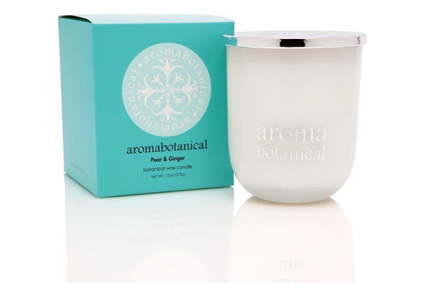 Aromabotanical Pear & Ginger Scented Candle