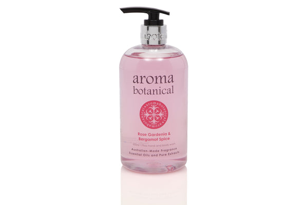 Rose Gardenia & Bergamot Spice Hand and Body Wash