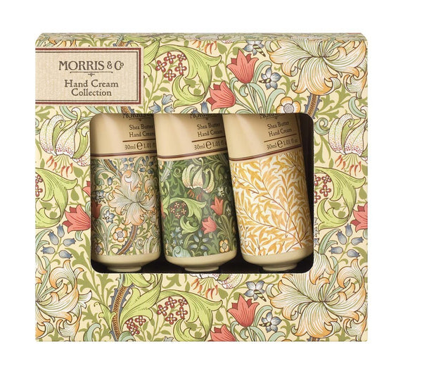Morris & Co Golden Lily 3 x 30ml Hand Cream