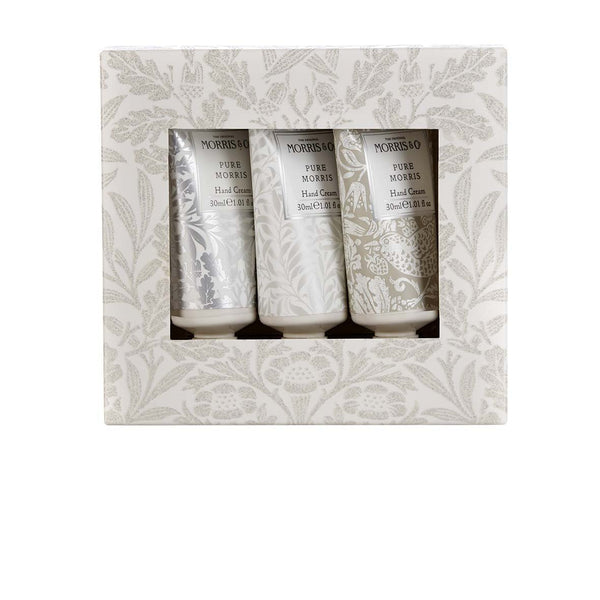 MORRIS PURE MORRIS 3X30ML HAND CREAM SET