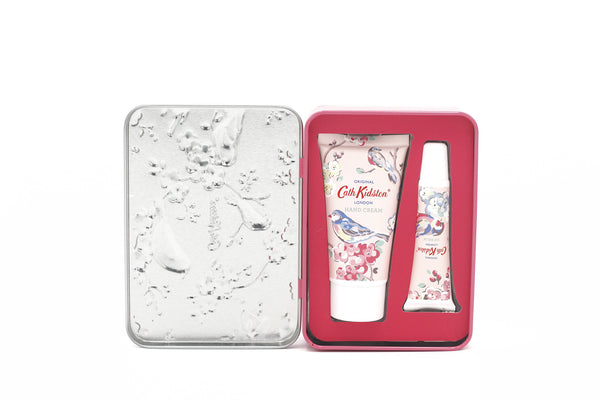 Cath Kidston Blossom Birds Blue Hand And Lip Set