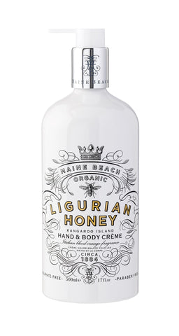 Maine Beach Organic - Ligurian Honey - Hand & Body Creme