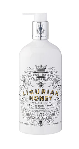 Maine Beach Organic - Ligurian Honey - Hand & Body Wash