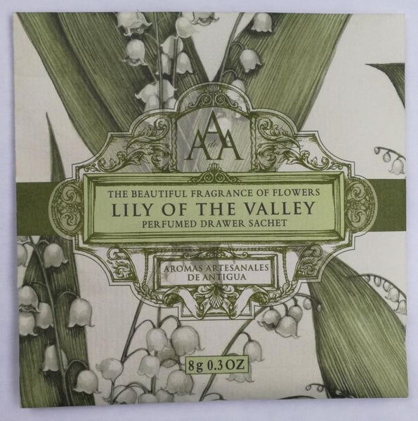 AAA FLORAL LILY OF THE VALLEY DRAWER SCENTED SACHET