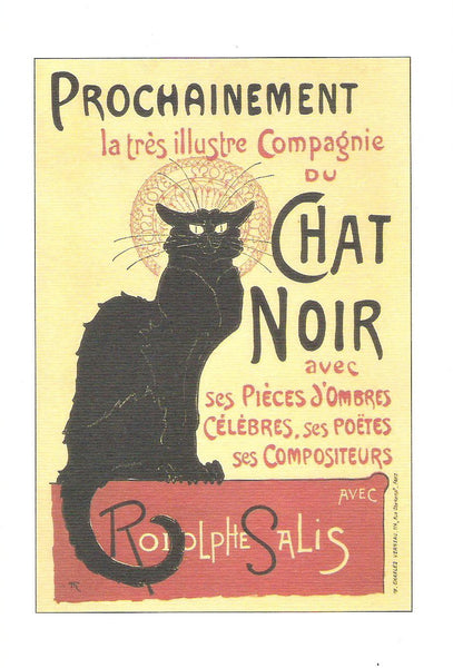 Greeting Cards - Instituto FotoCromo Italiano - Chat Noir