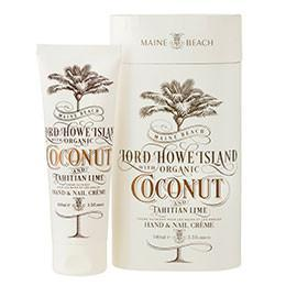 Maine Beach - Lord Howe Island Coconut and Lime Hand and Nail Creme 100ml