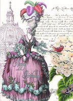 Finchley Blank Gift Cards - Marie Antoinette