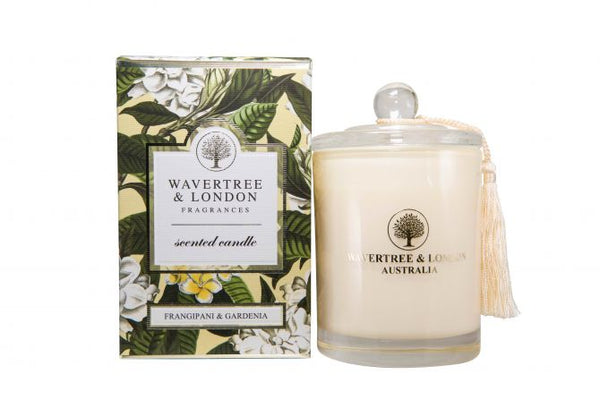 Wavertree & London-FRANGIPANI & GARDENIA CANDLE