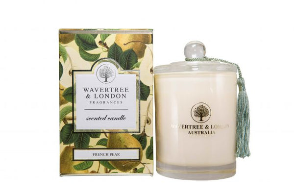 Wavertree & London-FRENCH PEAR CANDLE