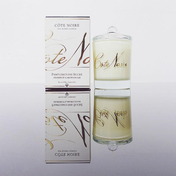 Côte Noire 185g Soy Blend Candle - Grapefruit & Brown Sugar