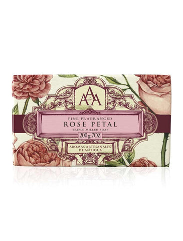 AAA Floral Soap Bar - Rose Petal