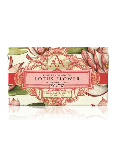 AAA Floral Soap Bar-Lotus Flower