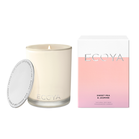 ECOYA-Sweet Pea & Jasmine Madison Jar