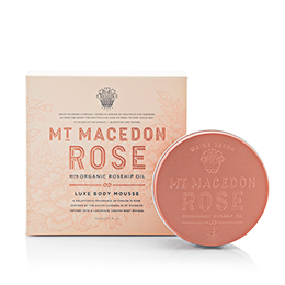 Maine Beach Mt Macedon Rose Body Mousse 150ml