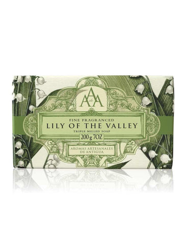 AAA Floral Soap Bar - Lily of the Valley