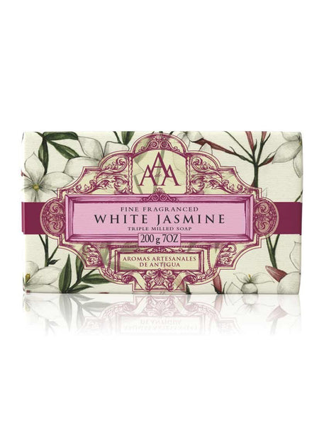 AAA Floral Soap Bar - White Jasmine