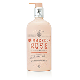 Maine Beach Mt Macedon Rose Hand&Body Creme 500ml