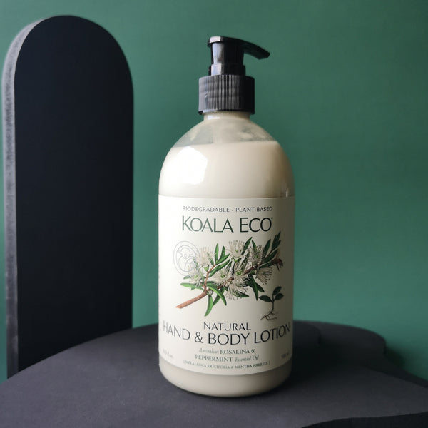Koala Eco Natural Hand and Body Lotion (Rosalina and Peppermint)