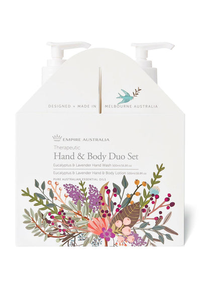 Empire Australia-Lavender Eucalyptus Hand/Body Care Duo 500ml
